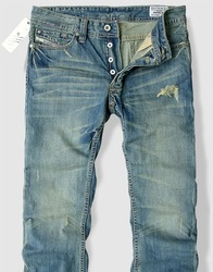 Free shipping, 2013 top brands cotton men's jeans, straight pants,true jeans men size: 28 ~ 38(China (Mainland))