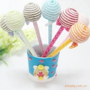 Korea stationery novelty lollipop pen gift school supplies(China (Mainland))