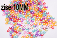 Wholesale 10mm five-pointed star acrylic beads ,DIY Jewelry Accessories 300 pcs/lot free shipping