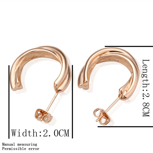 free shipping 18 K gold plated earrings Genuine Austrian crystals earrings,Nickle free antiallergic factory prices odc mn GPE003(China (Mainland))