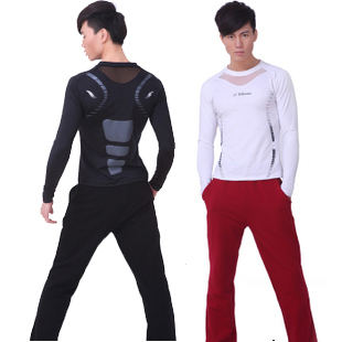 Men workout clothes yoga clothing 2012 set male callisthenics js007 nk008(China (Mainland))
