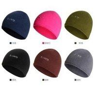 8 Colors Thick Thermal Fleece Ski Hat Headgear Winter Skiing Ear Windproof Outdoor hats