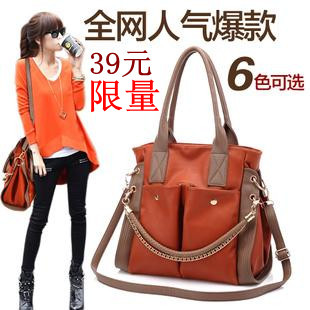2013 new hot sell women&#39;s chain shoulder messenger popular bag,free shipping(China (Mainland))