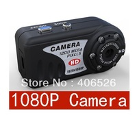 T8000 mini camera 1080P DVR Full Metal Body with Night Vision function Free Shipping