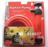 Free shipping Siphon pump Portable Oil Changer Vacuum Fluid Evacuator air free suction pump AUTO EMERGENCY TOOL KIT