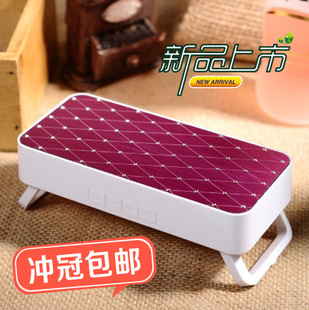 New arrival portable mini speaker mini stereo outdoor multifunctional exude audio(China (Mainland))