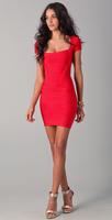 2013 New Ladies' Red HL Celebrity Bodycon Dress Celebrity Bandage Dresses Sexy Girl Elegant Prom Party Dress