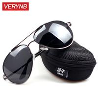 Male polarized sunglasses male mirror large sunglasses driving mirror classic sun glasses