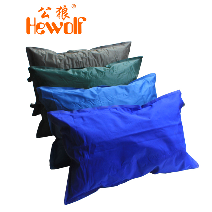 Outdoor automatic inflatable pillow inflatable travel pillow tent camping air pillow 1571(China (Mainland))