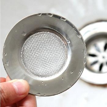 Free post\wholesale Stainless steel colander pool filter mesh filter mesh sink