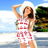 Magic hot spring la miu swimwear triangle swimwear set