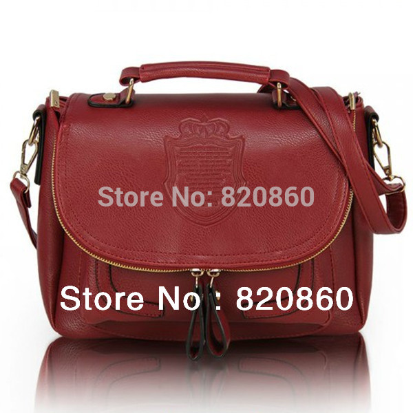 2013 Pressure shield retro hand bag fashion shoulder bags for woman 6 colors messenger bag Korean female package(China (Mainland))