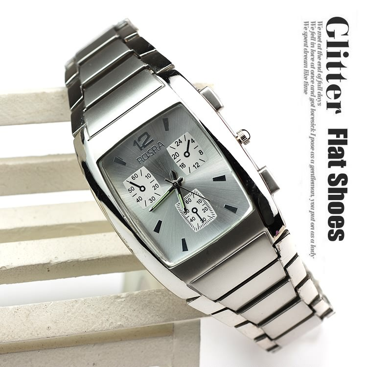 Tonneau steel with a male watch wholesale&retail watches wholesale&retail city manufacturers supply many styles cheap(China (Mainland))