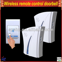 Free shipping wireless office doorbell,1 emitter with 2 receiver(China (Mainland))
