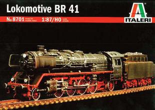 8701 br41 model steam locomotive