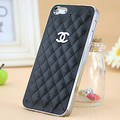 High quality Luxury leather case for iphone5 New Fashion Hard back case for iphone 5 5S with Freeshipping(China (Mainland))