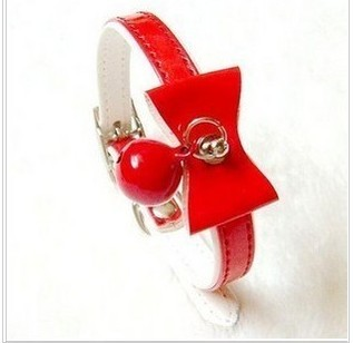 Pet collar saidsgroupsdirector accessories necklace strap collar bow 16--26cm elastic collar(China (Mainland))