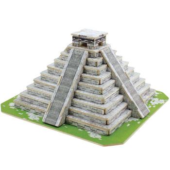 3d puzzle wool model maya pyramid gift model