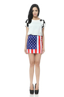 2013 Sexy Tight Women Galaxy Space Star Mini Skirt,Mini Pencil Skirt,Bee Fashion Printing Half-length Skirt DQ008 Wholesale