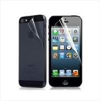 Free Shipping For iPhone 5 Front and Back Full Body Screen Protector LCD Protective Film