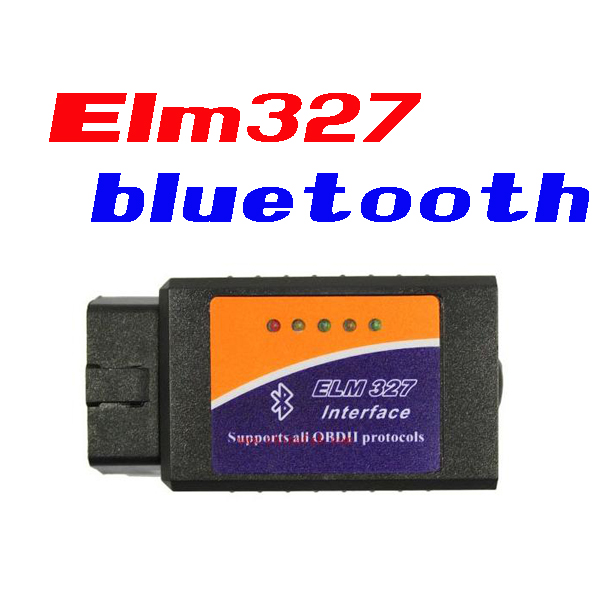 by dhl or ems 300 pieces ELM327 OBDII V1.5 CAN-BUS Bluetooth Diagnostic Interface Scanner scanner obd 2 blutooth car scantool(China (Mainland))