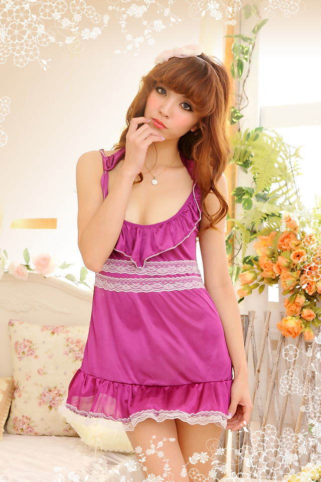 Wholesale price!women lace pajamas,animal pajamas,sleepwear,black color,nightdress,perspective styles,MOQ 20pcs(LSW-069)(China (Mainland))