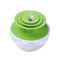 Mini USB power flower shape ultrasonic air humidifier for car, office or bedroom