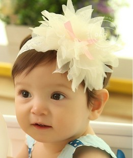 Cm8046 child hair accessory lace hair band wig hair band child headband princess flower hair band belt -tt(China (Mainland))