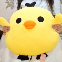 The new special offer. Yellow chicken duck fat doll. Pillow plush toy doll. Cushions of gifts for children