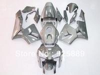 Injection molded gray fairings for HONDA F5 CBR600RR 05 06 CBR600 05-06 CBR 600RR 2005-2006 600 RR F5 2005 2006 fairing e002