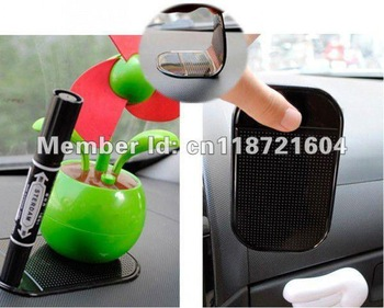 Promotion, magic sticky pad anti slip for car dashboard,car silicon anti slip/non slip mat for PDA m