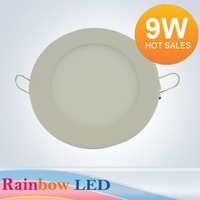 Free shipping 9W led panel light Ceiling Ceiling Light Kitchen Light led downlight led panel lamp AC85V ~ 265V 2835SMD