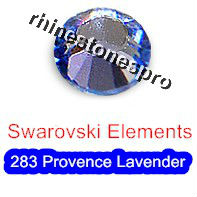 ss7 GENUINE Swarovski Elements Provence Lavender ( 283 ) 144 pcs ( NO hotfix Rhinestone ) Round Glass 7ss 2058 FLATBACK Crystal(Hong Kong)