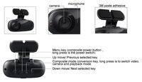 Black Hero HD Car DVR , 2013 Smallest HD 720P Car Black Box Recordeye DC750 with 1280*720P + G-Sensor + Free Shipping!