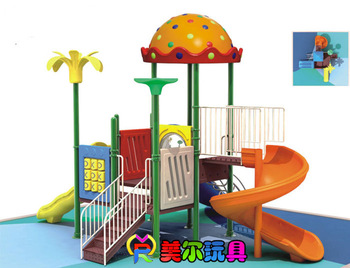 2013 hot Outdoor slide combination large outdoor amusement equipment  montessori toys