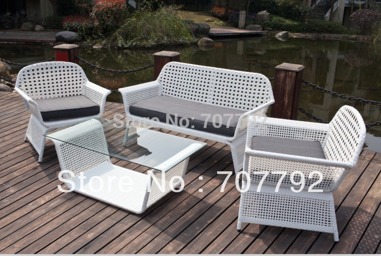 2013 Hot sale elegant outdoor wicker latest design sofa set(China (Mainland))