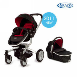 New arrival gray graco series deluxe child stroller 0 - 3 two-way 6p99 blue(China (Mainland))