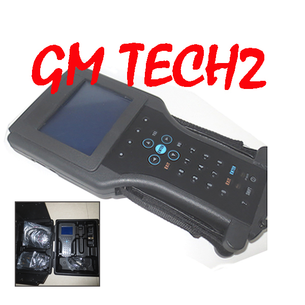 BY DHL OR EMS GM TECH2 support 6 software(GM,OPEL,SAAB ISUZU,SUZUKI HOLDEN) Full set Vetronix gm tech 2 with candi interface(China (Mainland))