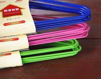 Infant mini hanger small hanger baby stainless steel clothes, child support child racks pvc dip slip-resistant