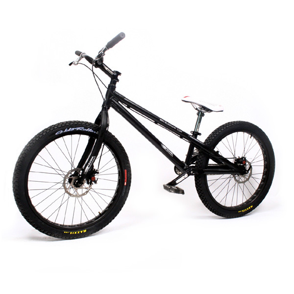 "free shipping by DHL or EMS 100% ORIGINAL BRAND BECAUSE 24"" disc -brake trial bicycle Aluminum complete for Extreme Sports C045(China (Mainland))"