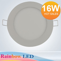 NEW free shipping 16W led Panel Light  ceiling light bathroom light2835LED (80pcs) AC85V~265C) 1440lm