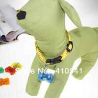 2013 New Arrival 50MM*33MM*18MM 30pcs/lot 3D Colorful Bone LED Animal Pet ID Tag MIX Color Dog Tag Light Pendant Free Shipping
