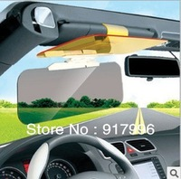 Free Shipping car sunshade goggles auto sunglasses shield flip cover sun visor clip  Retail And Wholesale