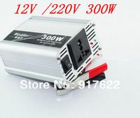 12V 220V DC to AC Car Power Inverter Adapter 300W Wholesale  vehicle-mounted inverter 12V to 220V free shipping