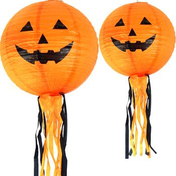Halloween props pumpkin lamp series paper lantern Large pumpkin lantern costume