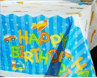 Birthday supplies table cloth tablecloth party supplies birthday 1(China (Mainland))