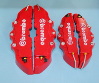 Free Shipping 4pcs Universal Car Auto Brembo Style Disc Brake Caliper Covers Front And Rear RD