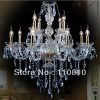 Special promotions European crystal chandeliers living room lamp bedroom lamp the study lamp candle lighting lamps 12A1380