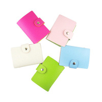 24 folded cortical card package card book color random