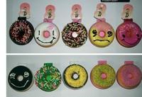 30pcs 6cm donut mirror squishy